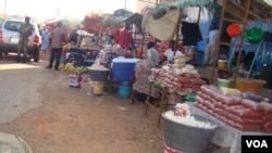 Mercado de Bandim, na capital Bissau.