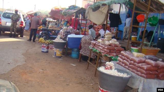 Mercado de Bandim, em Bissau