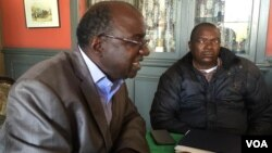 Mutauriri weZimbabwe National Liberation War Veterans Association, VaDouglas Mahiya (kuruboshwe)