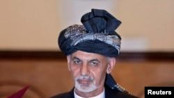 اشرف غني احمدزی د افغانستان جمهور رئیس (ارشیف)