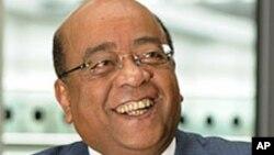 Mo Ibrahim, milliardaire d'origine soudanaise, qui cherche à faire décerner chaque année un prix visant à récompenser le leadership en Afrique