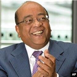 Mo Ibrahim of the Mo Ibrahim foundation, (File).