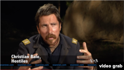 Christian Bale (VOA/videograb)