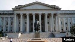 Министерство финансов США. Вашингтон
