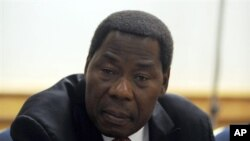 Benin's President Thomas Yayi Boni, 11 Sep 2009 (file photo)