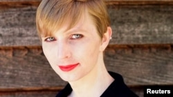 FILE - Chelsea Manning, the transgender U.S. Army soldier responsible for a massive leak of classified material, poses in a photo of herself, May 18, 2017.