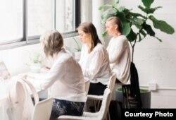 여성들이 함께 모여 일하는 일터인 '리비터(The Riveter)'의 모습. (제공: The Riveter)