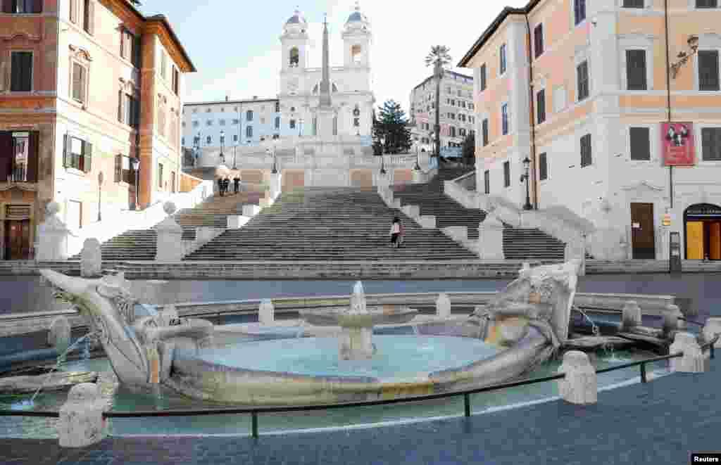İtaliya - Roma karantindədir