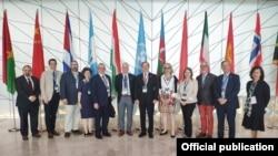 ABŞ-ın Azərbaycandakı səfiri Li Ltzenberger UNESCO-nun Ümumdünya İrs Komitəsinin Bakıda keçirilən sessiyasında