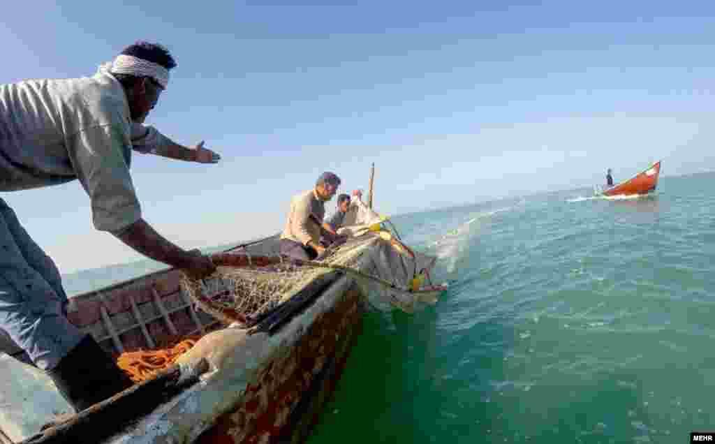 آغاز فصل ماهیگیری در دریای خزر ایران