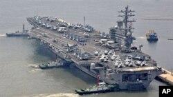 US Aircraft carrier USS Ronald Reagan (File)