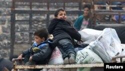 阿勒颇平民疏散工作将重新开始
