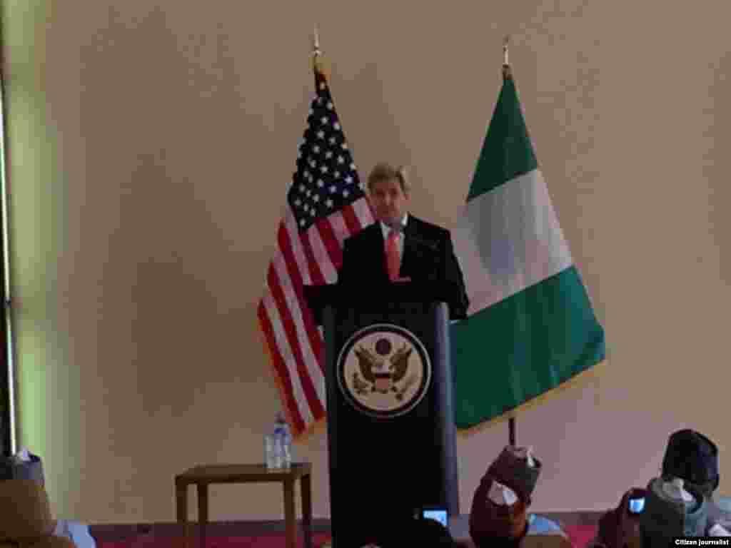 NIGERIA: John Kerry a Sokoto yana jawabi