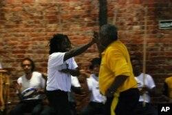 Exibição de Capoeira Angola