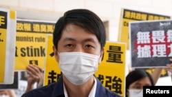 前香港立法會議員許智峯(資料圖片:路透社)