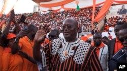 Roch Kaboré, le président élu du Burkina Faso