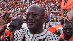Discours de Salif Diallo, nouveau président de l'Assemblée nationale burkinabè