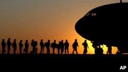 خروج نیرو های نظامی در اخیر ۲۰۱۴ آغاز می شود.
