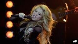 La cantante colombiana Shakira ha presentado su nuevo album.