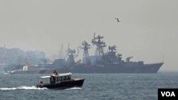 Đây là cuộc phô trương lực lượng hải quân lớn nhất của Nga tại vùng Địa Trung Hải kể từ khi Liên bang Sô Viết sụp đổ