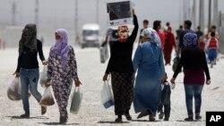 Turkiya-Suriya chegarasida