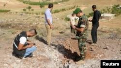 黎巴嫩军方6月1日检查受到叙利亚导弹袭击的地点