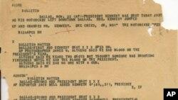 Los archivos del FBI sobre el asesinato del presidente John F. Kennedy divulgados recientemente muestran que el FBI estaba preocupado por el poder latino en EE.UU.