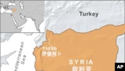 敘利亞的地理位置