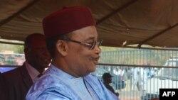 Le président Mahamadou Issoufou à Cotonou, le 29 janvier 2016.