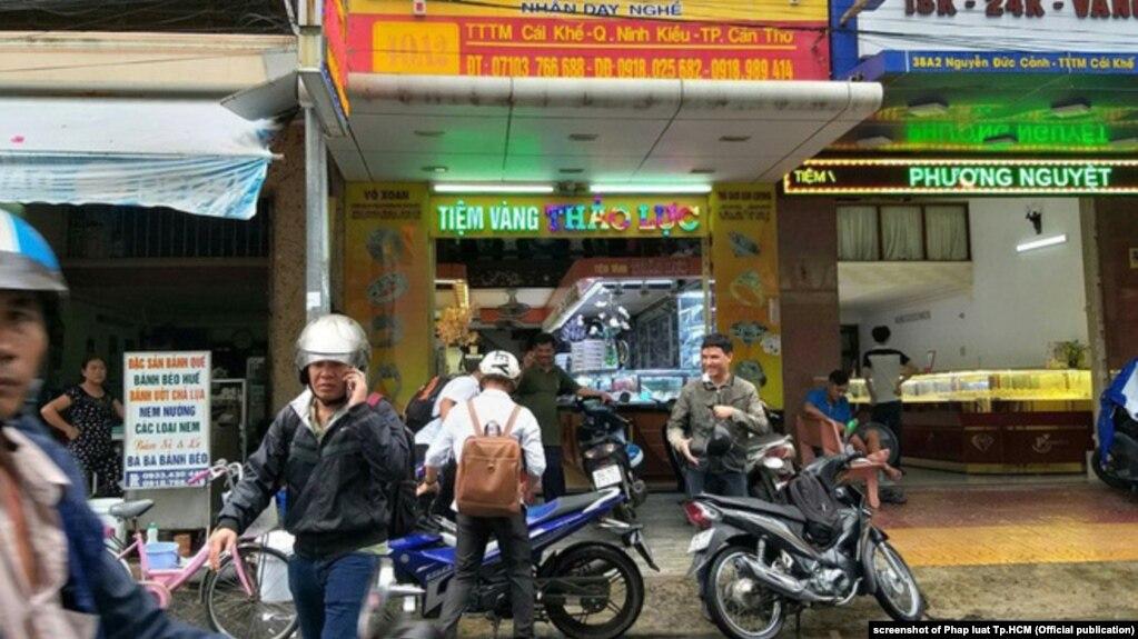 Tiệm vàng Thảo Lực, quận Ninh Kiều, thành phố Cần Thơ, 10/2018