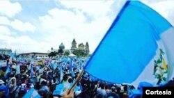 Los guatemaltecos demostraron decisión al luchar contra la corrupción