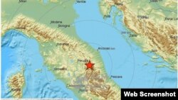 Es el segundo temblor de la noche y al igual que el primero, de magnitud 5,5 dos horas antes, se sintió también en Roma.