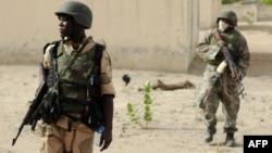 Militer Nigeria melakukan patroli di negara bagian Borno (foto: dok).
