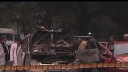 2012-02-15 美國之音視頻新聞: 印度稱攻擊以色列使館車輛的是恐怖襲擊