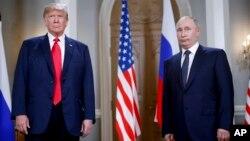 Xelsinkida o'tgan Tramp-Putin uchrashuvidan, 16-iyul, 2018-yil