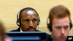 International Criminal Court on charges including Bosco Ntaganda, muri sentare mpuzamakungu mpanavyaha