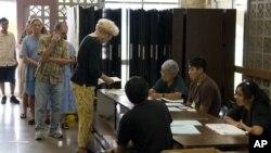 En 2008 la votación temprana batió récords y representó el 30 por ciento de todos los sufragios.
