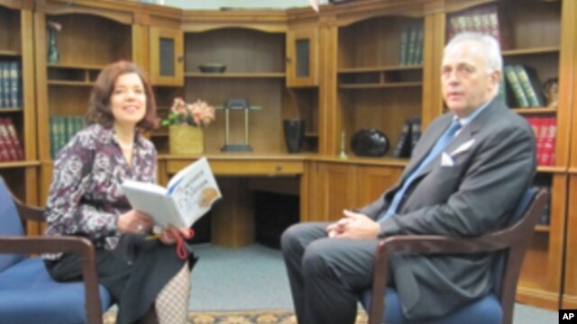 VOA's Faiza Elmasry interviews Mark Mallock-Brown about his book, 'The Unfinished Global Revolution: The Pursuit of a New International Politics.'