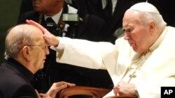 El caso de Marcial Maciel, acusado de abusos sexuales, empezó a ser juzgado por el Vaticano durante el papado de Benedicto XVI.