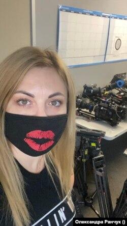 Олександра Ранчук працює асистентом продакшену