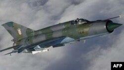 Un MiG-21