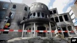 آرشیف: آتش سوزی در یک مسجد در برلین