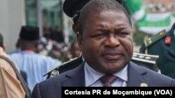 Presidente de Moçambique Filipe Nyusi