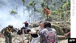 عمليات امداد در روستاهای تايوان که در اثر توفان آسيب ديدند ادامه دارد
