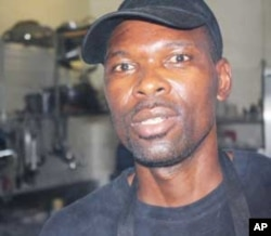 Zimbabwean steak griller Peter Mahiangu is looking forward to preparing food for tourists during South Africa's World Cup