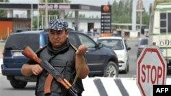 Поліцейський у Киргизстані