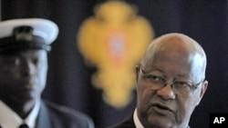 Guinea Bissau's Prime Minister Carlos Gomes Júnior (file photo)