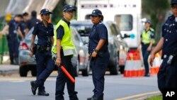 سنگاپور کی پولیس (فائل فوٹو)