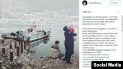 عکسی از سولماز دریانی، عکاسی که عکسهایش توجه دیکاپریو را به دریاچه ارومیه جلب کرد