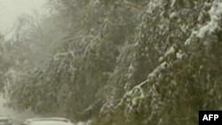 Հոկտեմբերյան ձնաբուքը վատ անակնկալ է մատուցել ԱՄՆ-ի արեւելյան ափերին